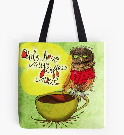 What my #Coffee says to me - July 20, 2013 Pillow Tote Bag