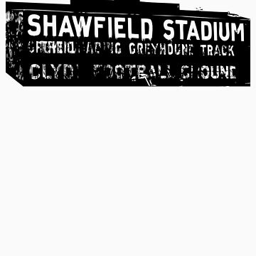 Shawfield Stadium, Glasgow tshirt by MFSdesigns