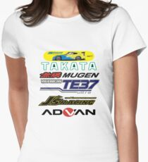 Honda S2000 Spoon Womens Fitted T-Shirt