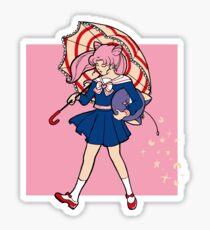 Salty Magical Girl Sticker