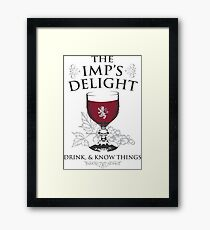 Imp's Delight - Light Framed Print