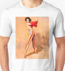 Gil Elvgren Appreciation T-Shirt no. 06 Unisex T-Shirt