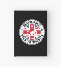 Toby Clements 'British Is Best' Flag Artwork #8 Hardcover Journal
