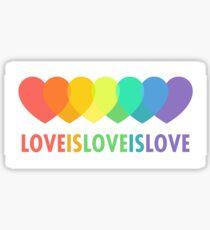Liebe ist Liebe ist Liebe Sticker