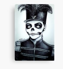 Black Parader Canvas Print