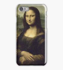 Leonardo Da Vinci - Mona Lisa. Woman portrait: Monna Lisa, Gioconda, smile, enigmatic,  italian, florence, smile gioconda, smile  mona lisa, love, painting , leonardo da vinci paintings iPhone Case/Skin