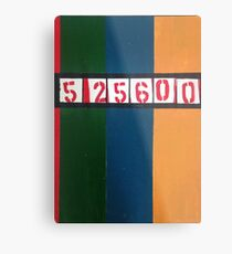 525600 minutes Metal Print