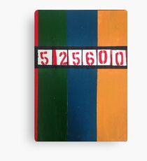 525600 minutes Canvas Print