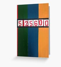 525600 minutes Greeting Card
