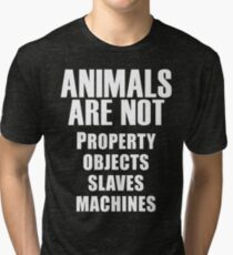 Animals Are Not Tri-blend T-Shirt