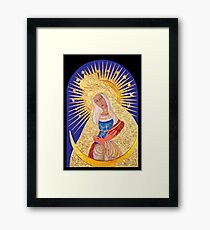 Our Lady of Ostrabrama Framed Print