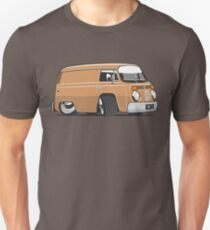 VW T2 van cartoon brown T-Shirt
