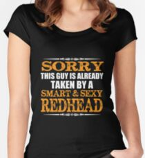 Redhead - Redhead Guy Women's Fitted Scoop T-Shirt