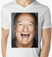 robin williams lol Men's V-Neck T-Shirt