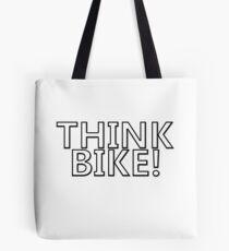 Think bike Tote Bag
