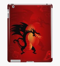 Funny dragon iPad Case/Skin