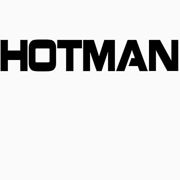 Hotman Logo Tee by hotman