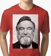 robin williams beard Tri-blend T-Shirt