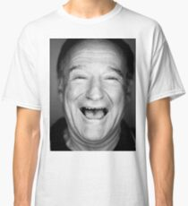 robin williams black and laugh Classic T-Shirt