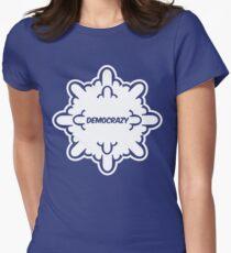 democrazy 2010 - promotional shirt - v1.0 invert Women's Fitted T-Shirt