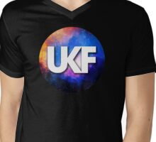UKF - Galaxy Alt Mens V-Neck T-Shirt