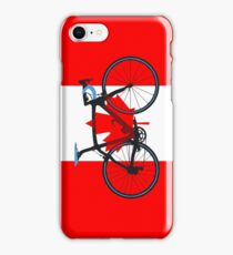 Bike Flag Canada (Big - Highlight) iPhone Case/Skin