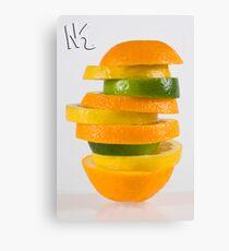 Orang-Lem-Lime Canvas Print
