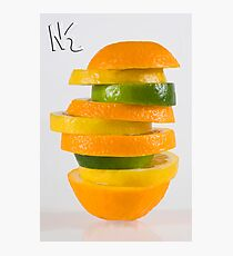 Orang-Lem-Lime Photographic Print