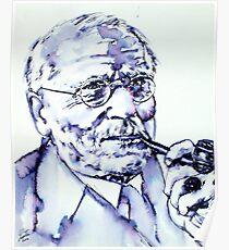 CARL GUSTAV JUNG - portrait Poster