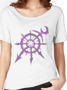 Mark of Chaos - Slaanesh Women's Relaxed Fit T-Shirt