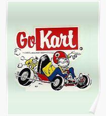 QVHK Go Kart Poster
