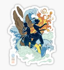 Two Avatars Sticker