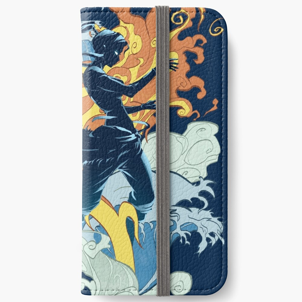 Two Avatars iPhone Wallet