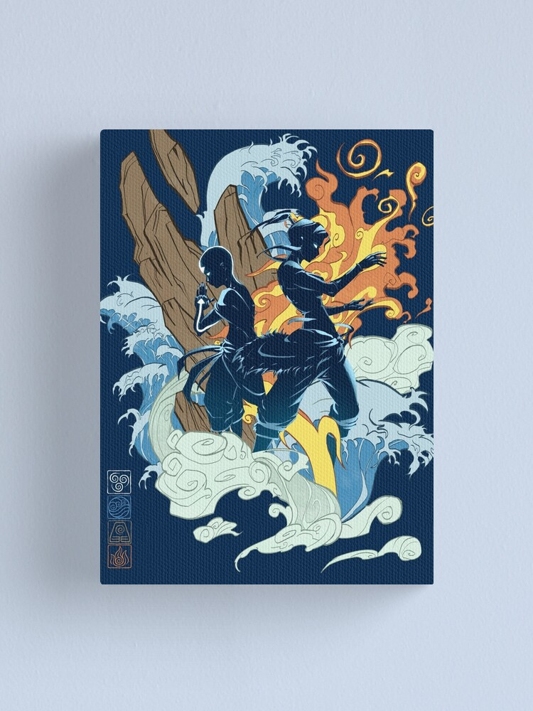 Alternate view of Two Avatars Canvas Print