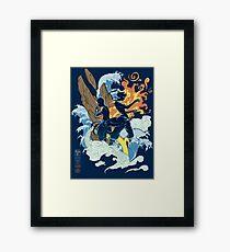 Two Avatars Framed Print