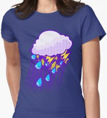 Thunderstorm Women's Fitted T-Shirt