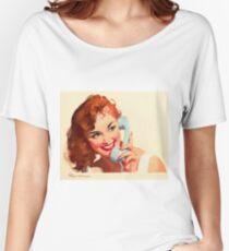 Gil Elvgren Appreciation T-Shirt no. 10. Women's Relaxed Fit T-Shirt