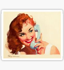 Gil Elvgren Appreciation T-Shirt no. 10. Sticker