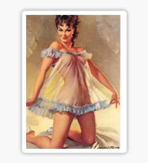 Gil Elvgren Appreciation T-Shirt no. 13. Sticker