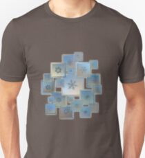 Snowflake collage - Bright crystals 2012-2014 T-Shirt