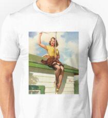 Gil Elvgren Appreciation T-Shirt no. 16. T-Shirt