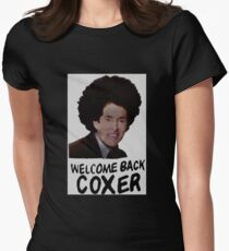 Welcome Back Cox Coxer Women's Fitted T-Shirt