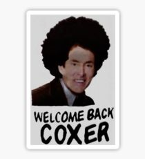 Welcome Back Cox Coxer Sticker