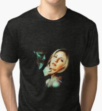 Buffy & Angel Tri-blend T-Shirt