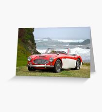 1966 Austin-Healy 3000 Greeting Card