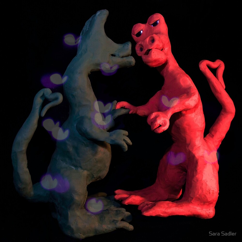 Dinosaur love by Sara Sadler