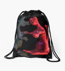 Dinosaur love Drawstring Bag