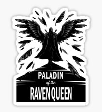 Paladin of the Raven Queen - B&W Variant Sticker