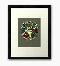 Zombie Apocalypse - I'm ready. Are you? Framed Print