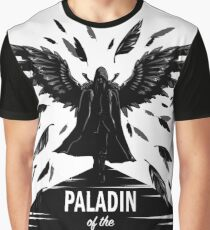 Paladin of the Raven Queen - B&W Variant Graphic T-Shirt
